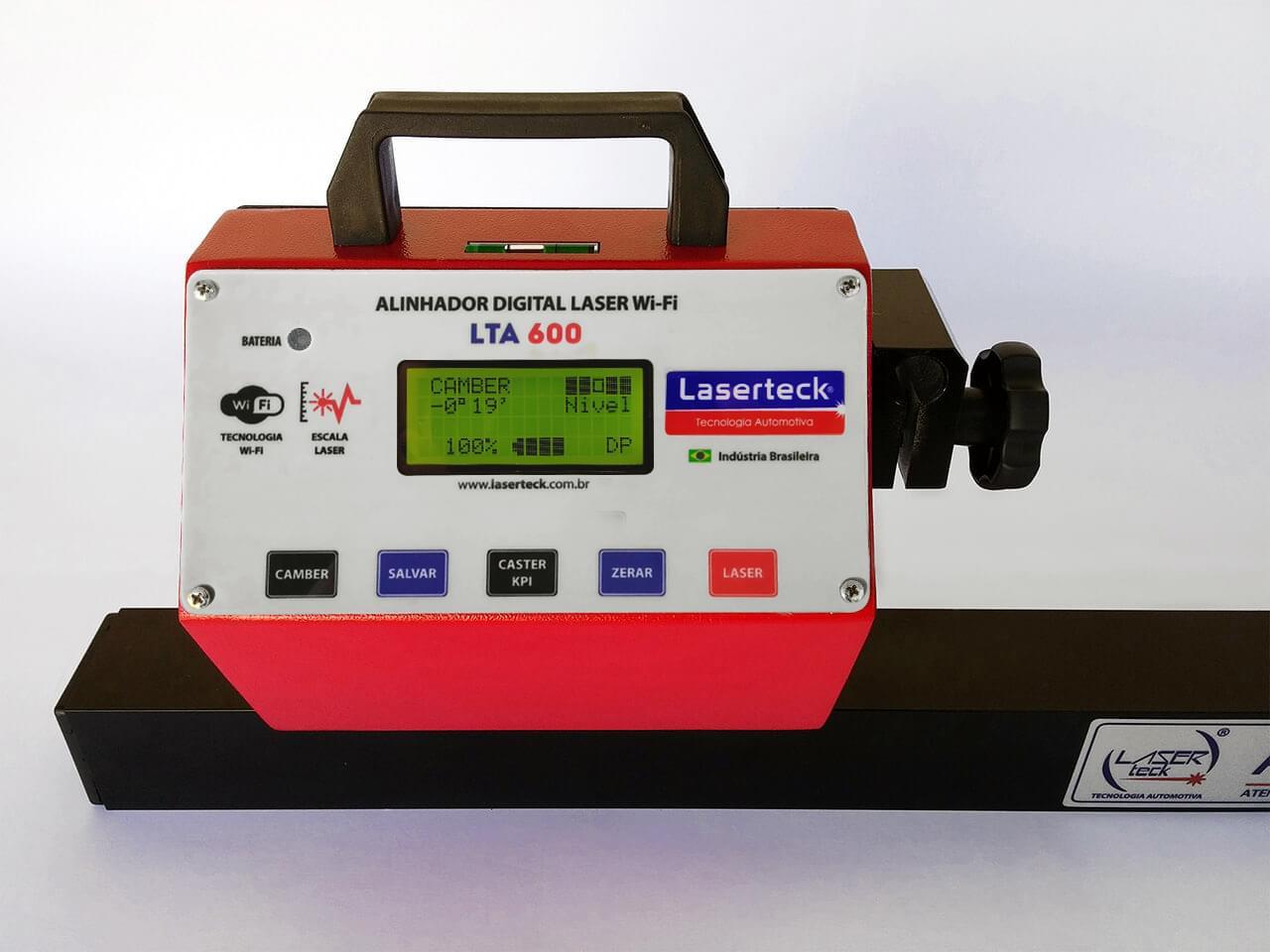 Alinhador digital LTA 600 WiFi - Truck