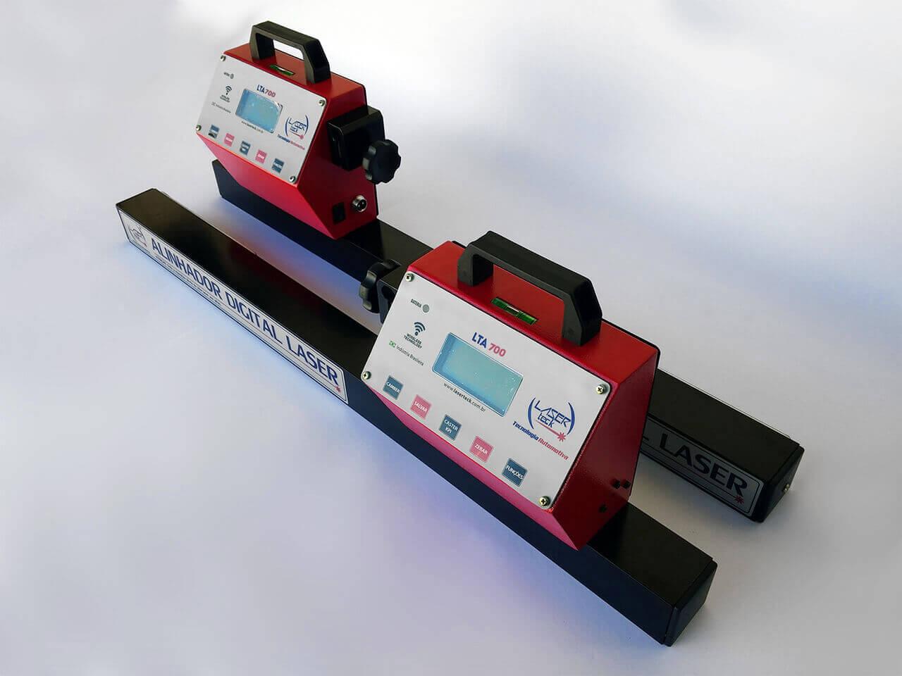 Alinhador digital LTA 700