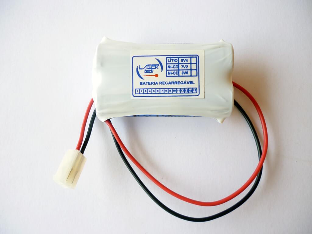 Bateria 8v4 Lítio (pequena)