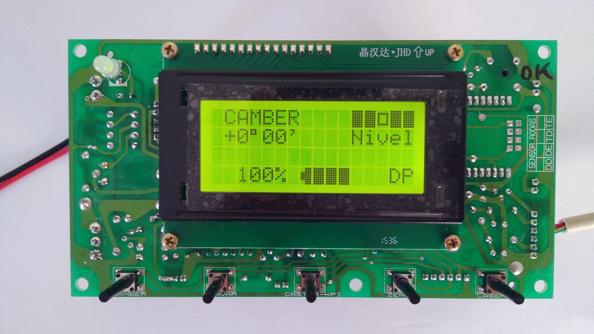 Kit-Alinhador Computadorizado/Wifi LTA 850-2