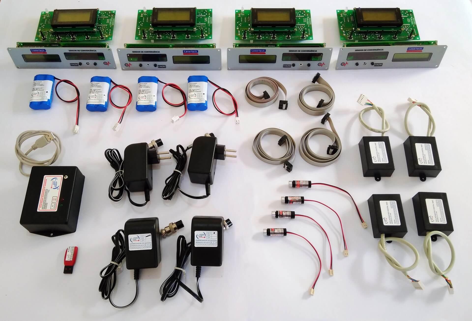 Kit-Alinhador Computadorizado/Wifi LTA 850-4