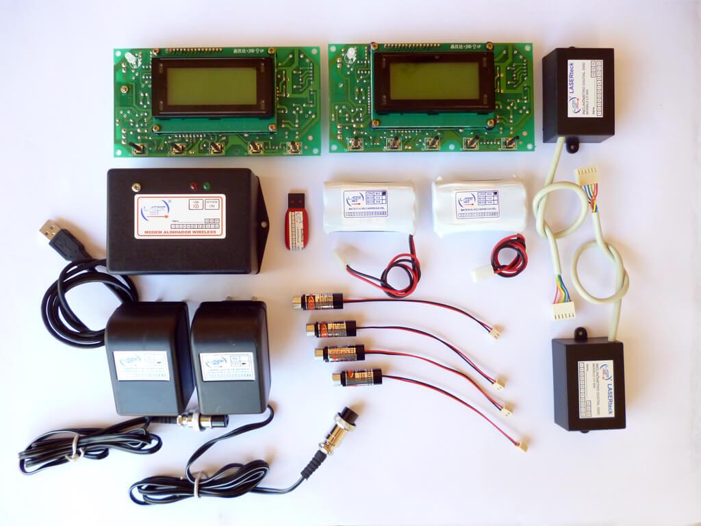 Kit-Alinhador Digital/Wifi LTA 600-2