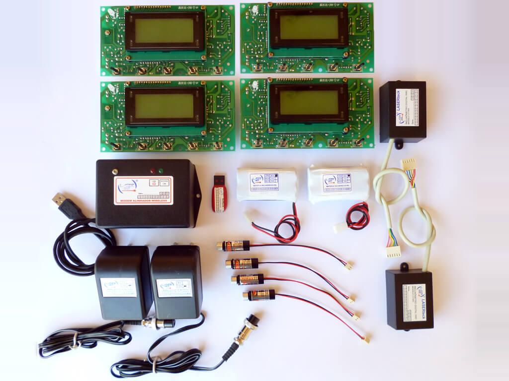 Kit-Alinhador Digital/Wifi LTA 600-4